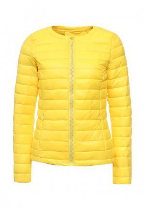 Куртка утепленная Z-Design. Цвет: желтый