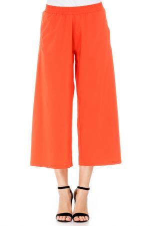 Кюлоты BERENIS. Цвет: оранжевый