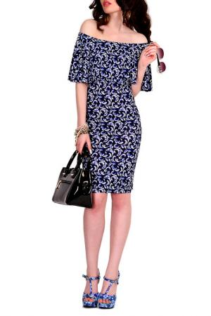 Платье MONT PELLIER. Цвет: голубая волна