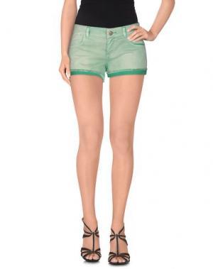 Повседневные шорты TOY G.. Цвет: светло-зеленый