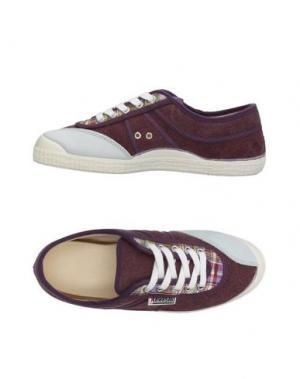 Низкие кеды и кроссовки KAWASAKI. Цвет: фиолетовый