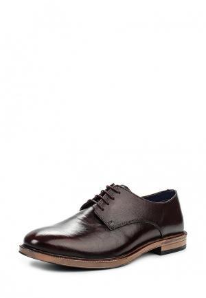 Туфли Burton Menswear London. Цвет: бордовый