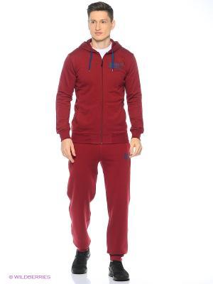 Куртка TRAINING CLUB FZ HOODIE ASICS. Цвет: красный