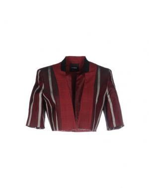 Пиджак TIM SOAR. Цвет: красно-коричневый