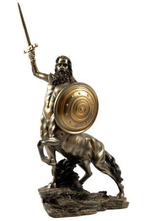 Статуэтка Кентавр 27 см Русские подарки. Цвет: бронзовый