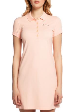 Платье Galvanni. Цвет: розовый