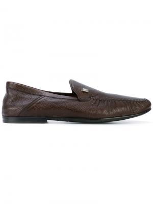 Палубные туфли Bally. Цвет: коричневый
