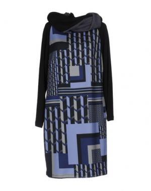 Короткое платье CALALUNA. Цвет: темно-синий