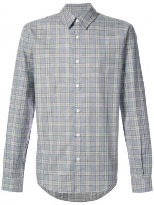 Рубашка в клетку Éditions M.R. Цвет: серый