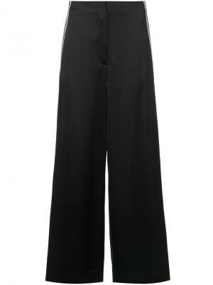 Side-stripe tailored trousers Dvf Diane Von Furstenberg. Цвет: чёрный