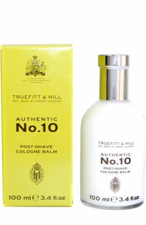 Бальзам-сыворотка после бритья Authentic No. 10 Truefitt&Hill. Цвет: бесцветный