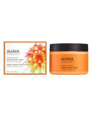 Deadsea Plants Нежный крем для тела мандарин и кедра 350 мл AHAVA. Цвет: прозрачный