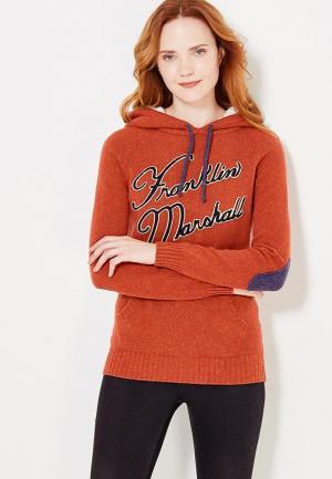 Худи Franklin & Marshall. Цвет: оранжевый