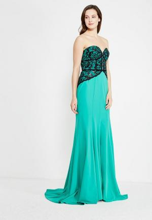 Платье Isabel Garcia. Цвет: зеленый