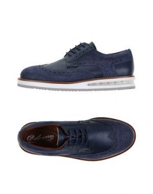 Обувь на шнурках BARLEYCORN. Цвет: темно-синий