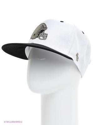 Кепка Helmet 4thes3ts. Цвет: белый, черный