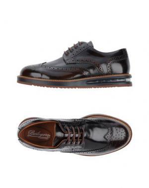 Обувь на шнурках BARLEYCORN. Цвет: темно-коричневый