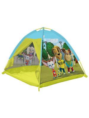 Палатка 112*112*84 Барбоскины FRESH-TREND. Цвет: желтый, голубой