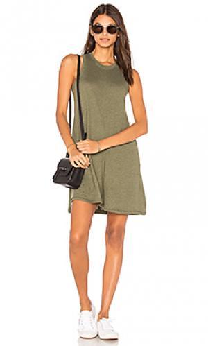Платье-майка phoebe Nation LTD. Цвет: зеленый