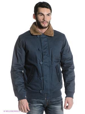 Куртка Wesc. Цвет: синий
