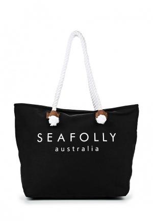 Сумка Seafolly Australia. Цвет: черный