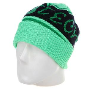 Шапка  No Biggie Beanie Green - Подарок Lib Tech. Цвет: зеленый
