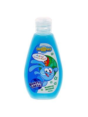 Шампунь детский Хвощ Смешарики. Цвет: голубой