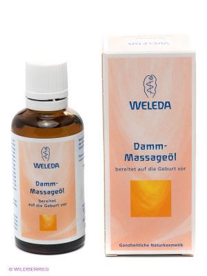 Масло для подготовки к родам Weleda. Цвет: персиковый