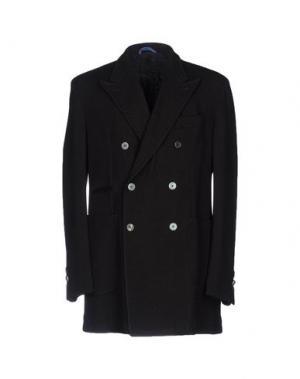 Легкое пальто JOHN SHEEP. Цвет: черный