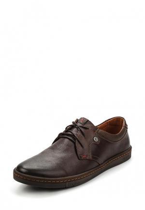 Туфли Nine Lines. Цвет: коричневый