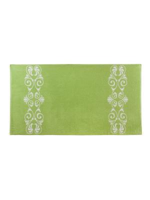 Полотенце Aquarelle. Цвет: зеленый, белый