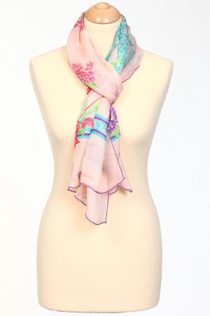 Палантин Leonard. Цвет: розовый, фиолетовый, салатовый