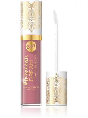 Bell Жидкая Матовая Помада Для Губ Moroccan Dream Matte Liquid Lips  Тон 03. Цвет: красный