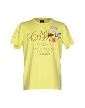 Футболка GAASTRA. Цвет: желтый