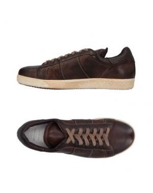 Низкие кеды и кроссовки PANTOFOLA D'ORO. Цвет: темно-коричневый
