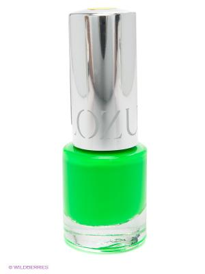 Лак для ногтей Гламур Флюо, тон 33 YLLOZURE. Цвет: зеленый