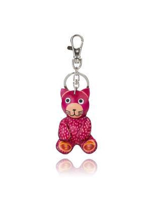 Брелок Котик Honey Jewelry. Цвет: розовый