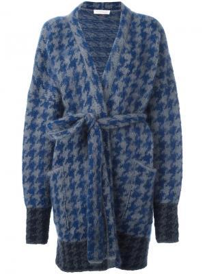 Пальто-кардиган Thursday A.F.Vandevorst. Цвет: синий