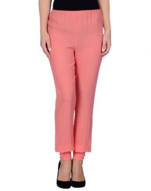Повседневные брюки ALESSANDRA RICH. Цвет: коралловый