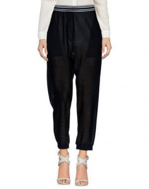 Повседневные брюки NUDE. Цвет: черный