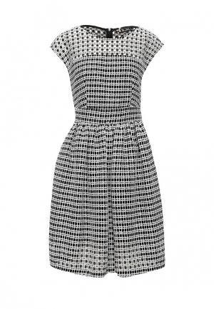 Платье Sinequanone. Цвет: черно-белый