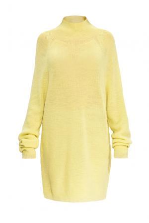 Туника из шерсти 153301 Norsoyan. Цвет: желтый