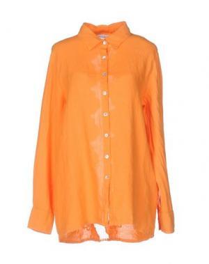Pубашка LA FABBRICA del LINO. Цвет: оранжевый