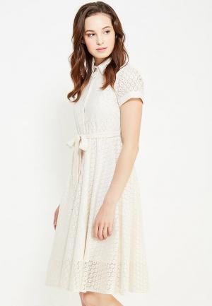 Платье Cocos. Цвет: белый