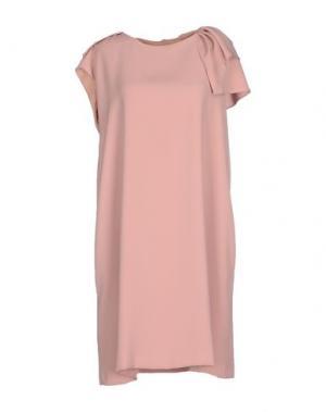 Короткое платье DICE KAYEK. Цвет: телесный