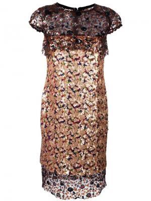 Платье Kolsby Talbot Runhof. Цвет: none