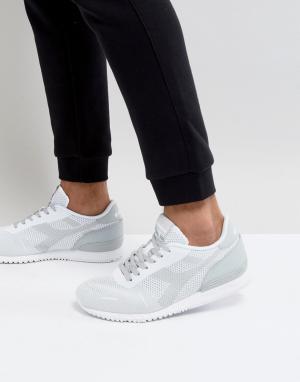 Diadora Бежевые кроссовки Titan. Цвет: бежевый