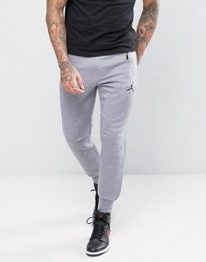 Jordan Серые джоггеры скинни Nike Icon 809472-065. Цвет: серый