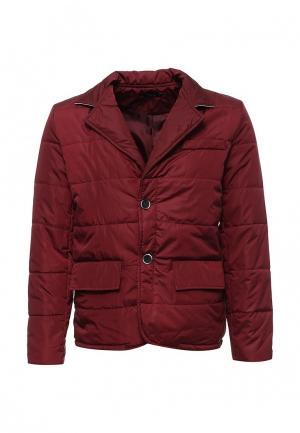 Куртка утепленная Aarhon. Цвет: бордовый