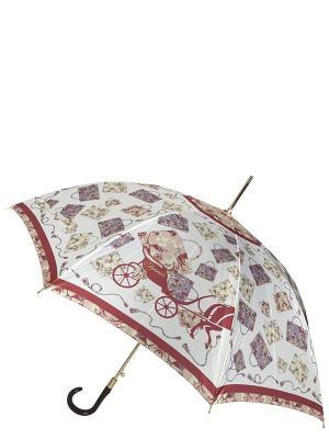 Зонт Eleganzza. Цвет: коричневый
